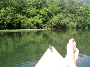 Canoeing the Gauley River