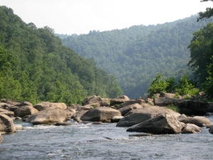 Boulders on the New River