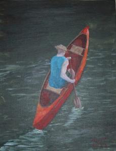 Canoe Self-Portrait