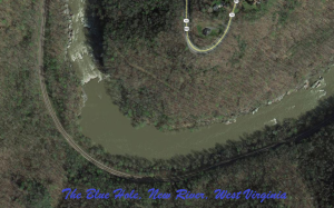 The Blue Hole on the New River
