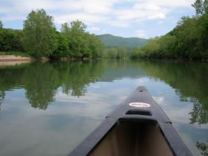 Canoeing the Shenandoah River 1