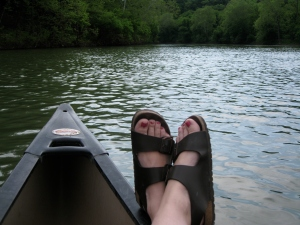 Canoeing the Shenandoah River 4