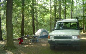 Car Camping in the Appalachian Mountains