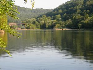 New River near Gauley Bridge
