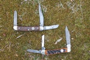 Boker Treebrand Knives Open
