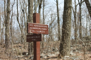 Harpers Ferry and Keys Gap Sign