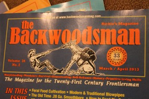 the Backwoodsman Cover