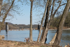 Shenandoah River from Harpers Ferry