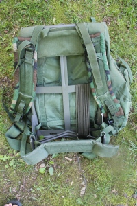Paracord on Rucksack
