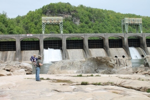 Observing Hawk's Nest Dam
