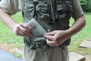 Fishing Vest with Tackle