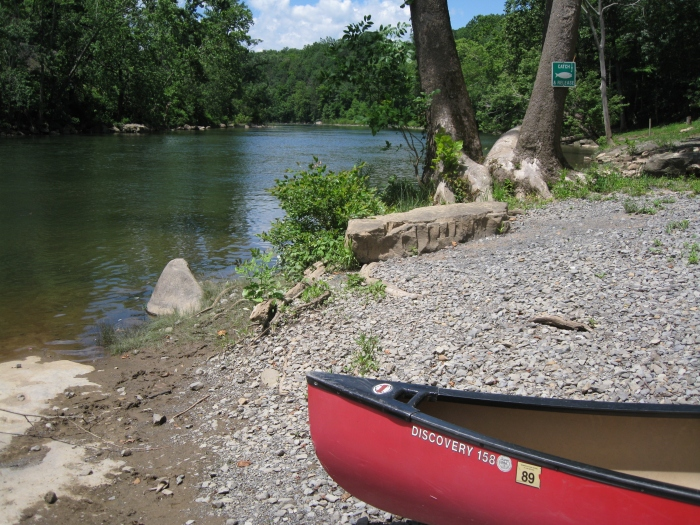 Greenbrier River Campground Boat Launch
