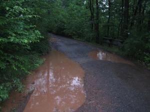 Sleepy Creek Lake Entrance Road