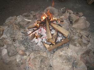 Campfire at Sleepy Creek Lake