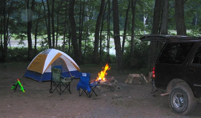 Camping at Sleepy Creek Lake