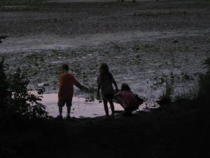 Playing at Sleepy Creek Lake