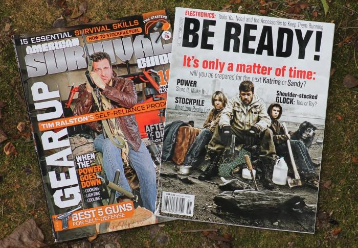 Prepper Magazines