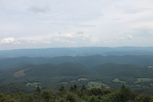 View from Bald Knob