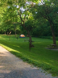 Our Campsite at Antietam Creek Campground
