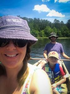 Canoeing Sleepy Creek Lake 3