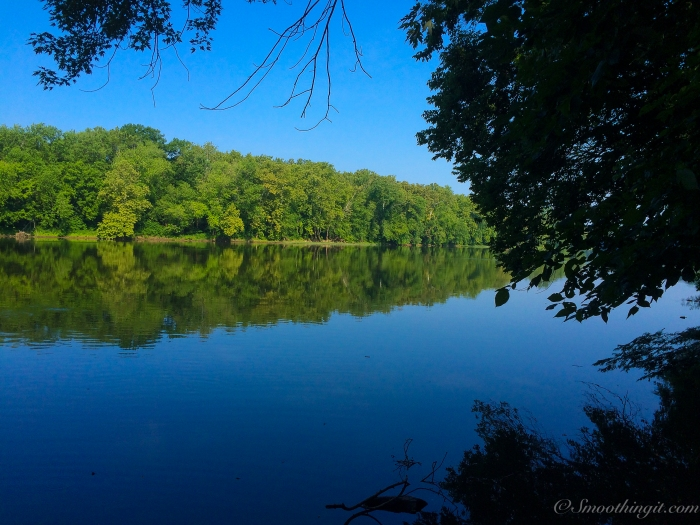 View of the Potomac River from the Antietam Creek Campground