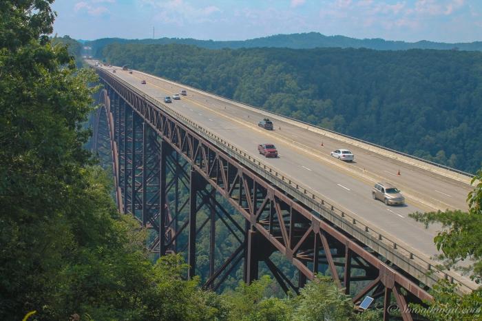 New River Gorge Bridge from Overlook